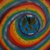 Zeitreise, 60x50 cm, Acryl auf Leinwand