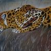 Gepard II,60x80cm, Acryl auf Leinwand
