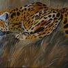 Gepard III,60x80cm, Acryl auf Leinwand