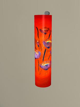 Motiv Mohnblume II   Größe H66xB16