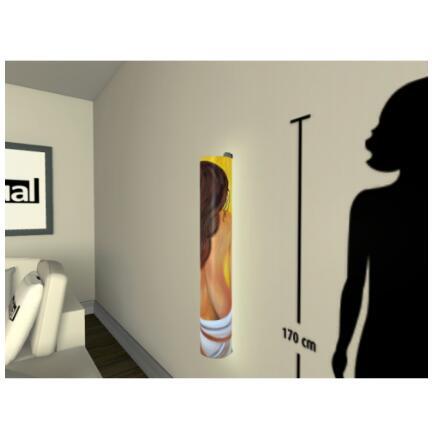 Motiv Frau  Größe H96xB16cm