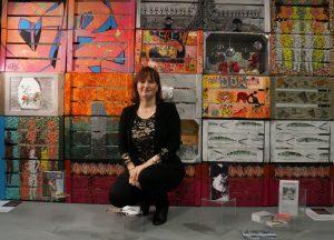 Fotos Babett Eröffnung Kistenmauer und ich3